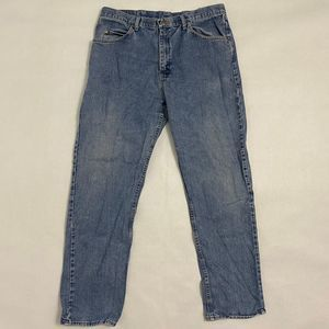 Vintage Wrangler Jeans Relaxed fit 36x34  Waist: 3